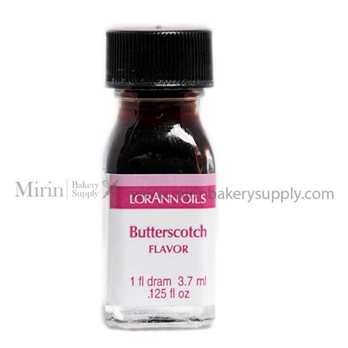 BUTTERSCOTCH FLAVOR LORANN OILS 3.7 ML.